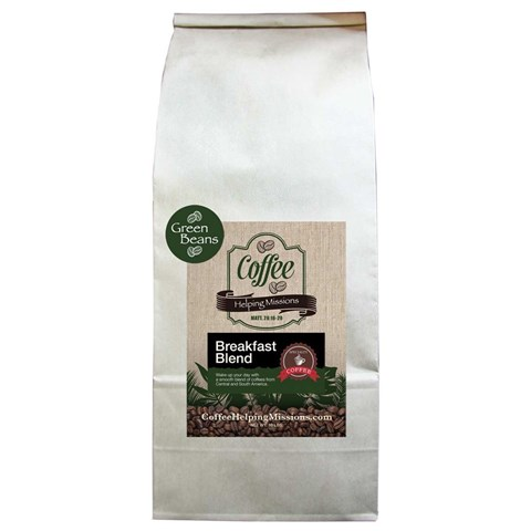 Green Beans 10lb Bag: Breakfast Blend