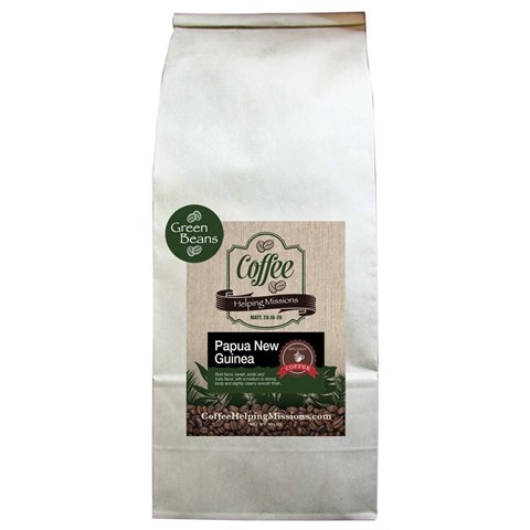 Green Beans 10lb Bag: Papua New Guinea