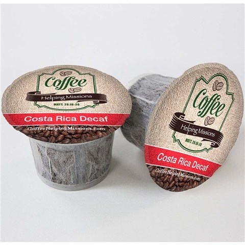 Single Serve Cups: Costa Rica Decaf