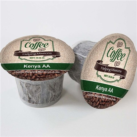 Single Serve Cups: Kenya AA