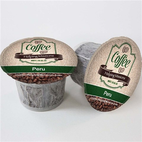 Single Serve Cups: Peru