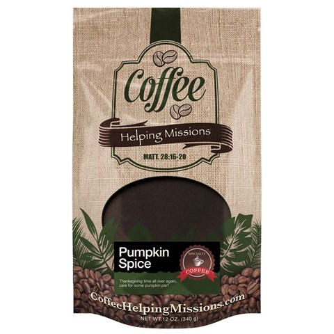 12oz. Bag: Pumpkin Spice