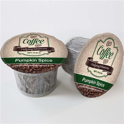 Single Serve Cups: Pumpkin Spice