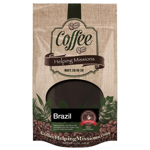 12oz. Bag: Brazil Decaf